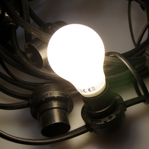 L.E.D. Festoon Light Strings for Hire SoundFX Lighting Hire